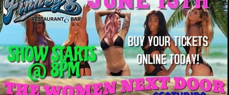 The Women Next Door – June 15th, 2021 @ 8:00pm – 11:00pm